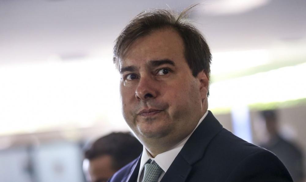 Presidente da Câmara dos Deputados, Rodrigo Maia Foto: Marcelo Camargo/Agência Brasil