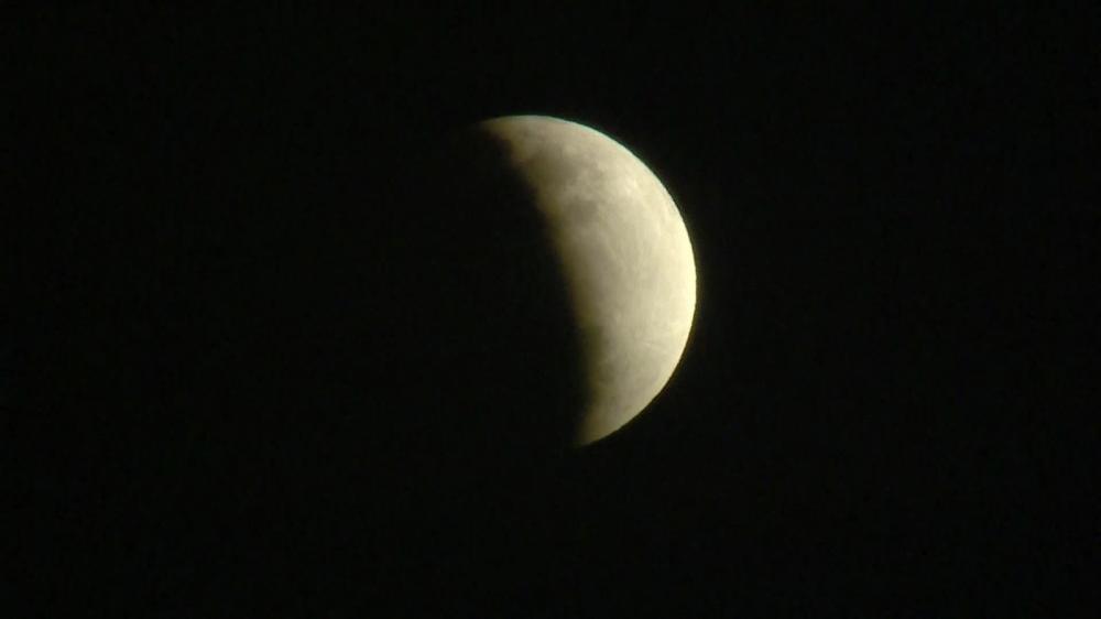 Eclipse parcial da Lua é visto no Brasil e pelo mundo; FOTOS
