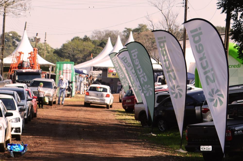 Entrada do Parque de Exposições Álvaro Dias/Foto:Marcos Prudente