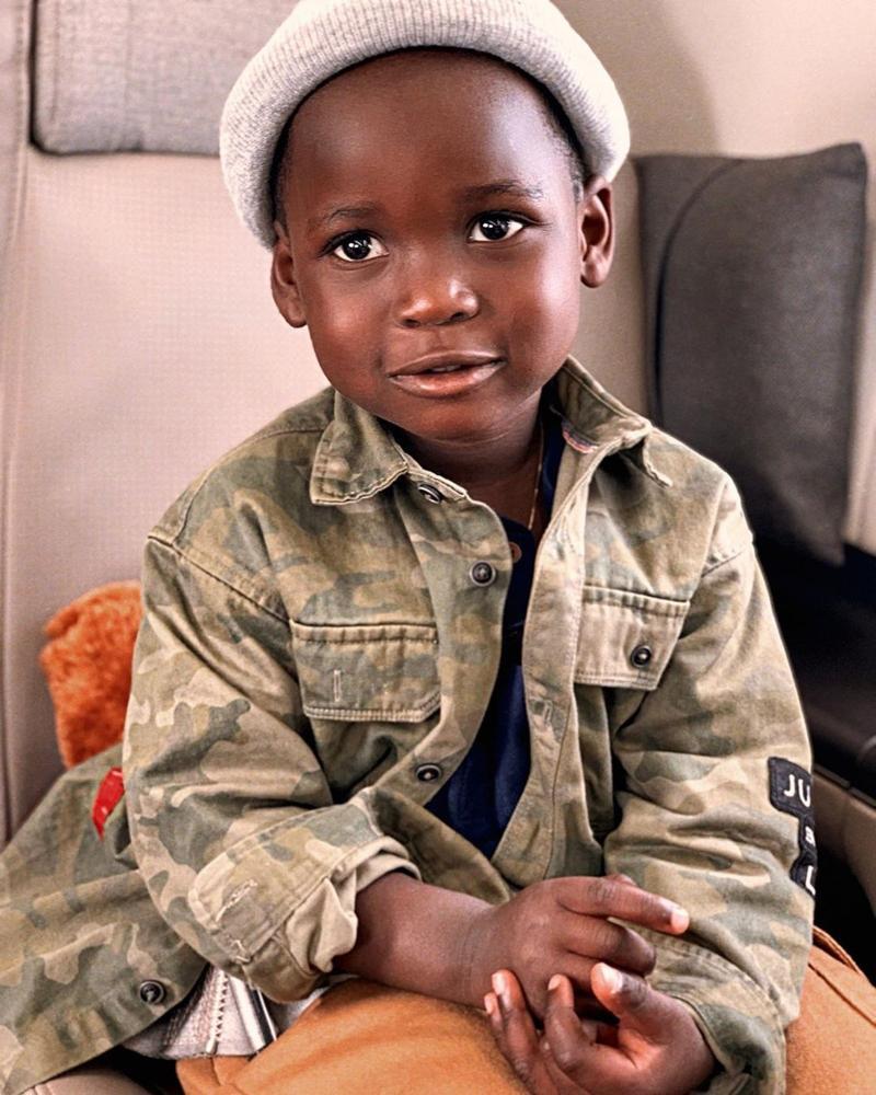 Giovanna Ewbank compartilha primeira foto do filho Bless