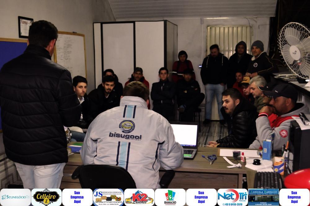 Congresso técnico realizado na Secretaria de Esportes (Anexo ao Bragamatte)/Foto:Mascos Prudente