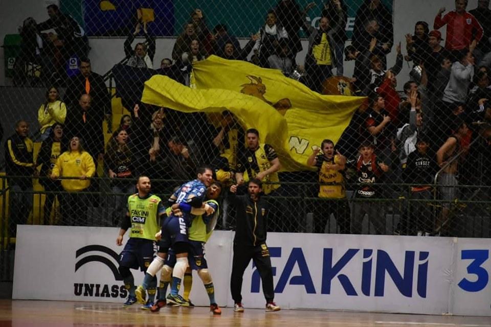 Foto: ASCOM Jaraguá Futsal