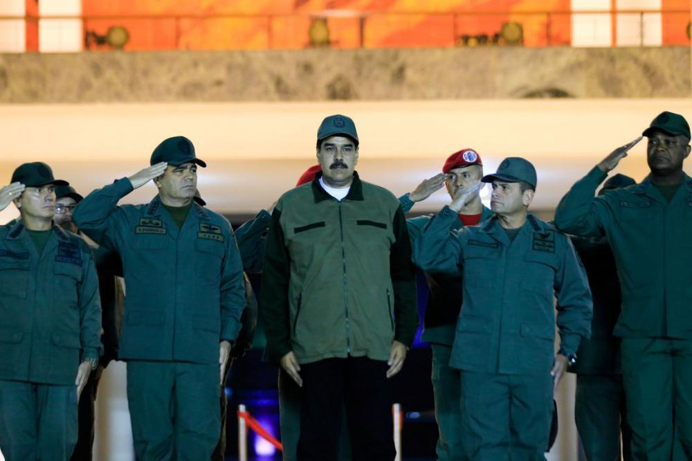 Palácio de Miraflores/via Reuters/Direitos reservados