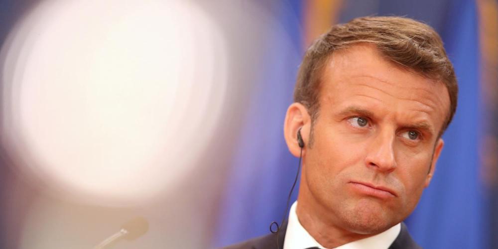 O presidente da França, Emmanuel Macron / Divulgação