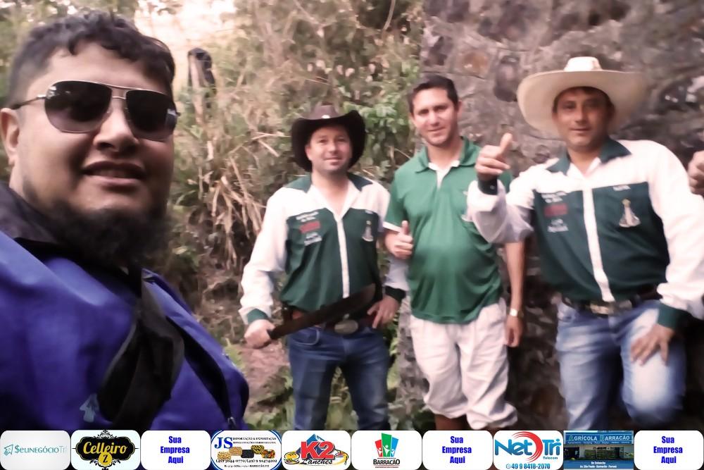 Trajeto de Barracão a Santo Antonio está quase todo demarcado para a II Cavalgada da Integração