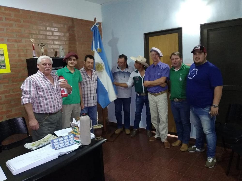 Grupo de Cavaleiros após reunião com Gabriel San Juan/Foto:Reprodução WhatsApps