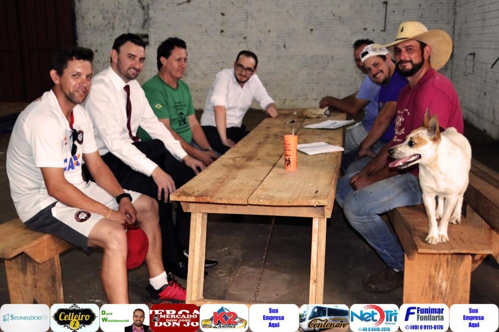 Organizadores definindo últimos detalhes/Foto:Marcos Prudente