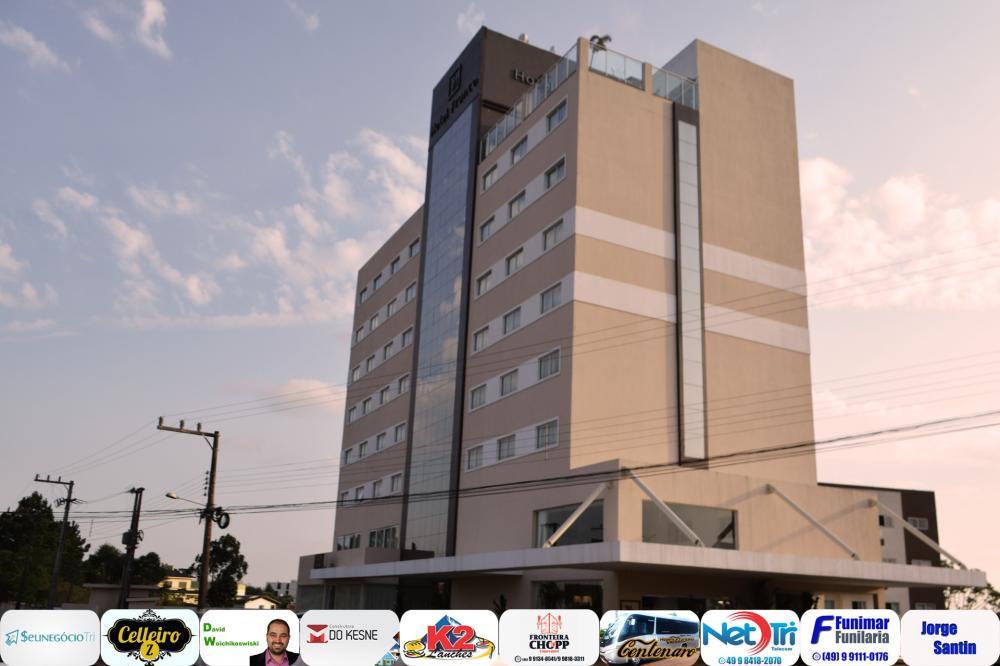Fachada do hotel/Foto:Marcos Prudente