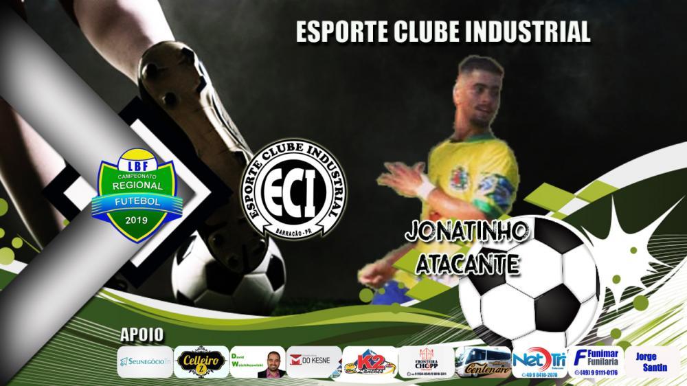 Jonatinho é convocado para vaga de Marlon na estreia do Industrial no Regional de Futebol