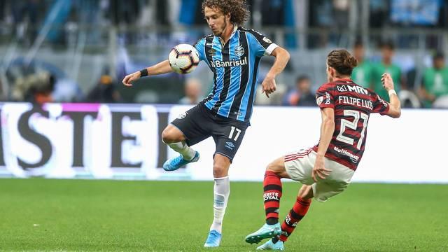 Grêmio empata com Flamengo no jogo de ida das semis da Libertadores