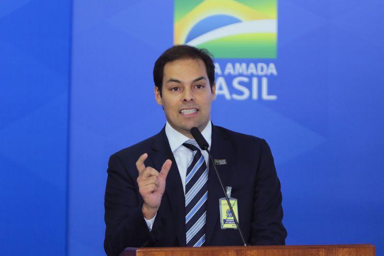Secretário especial de Desburocratização, Paulo Uebel/ Arquivo/Agência Brasil