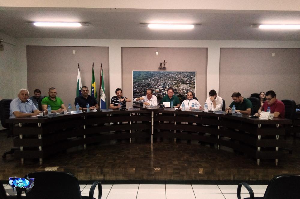 Vereadores na votação em primeiro turno/Foto:Marcos Prudente