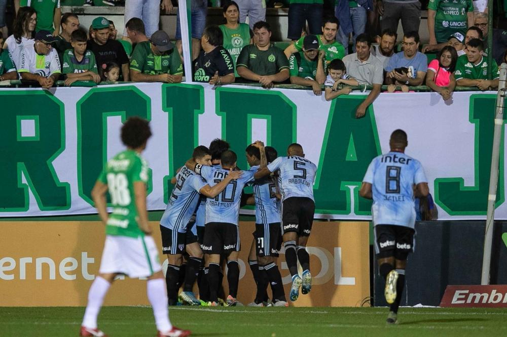 Chapecoense x São Paulo — Foto: Liamara Polli/Estadão Conteúdo