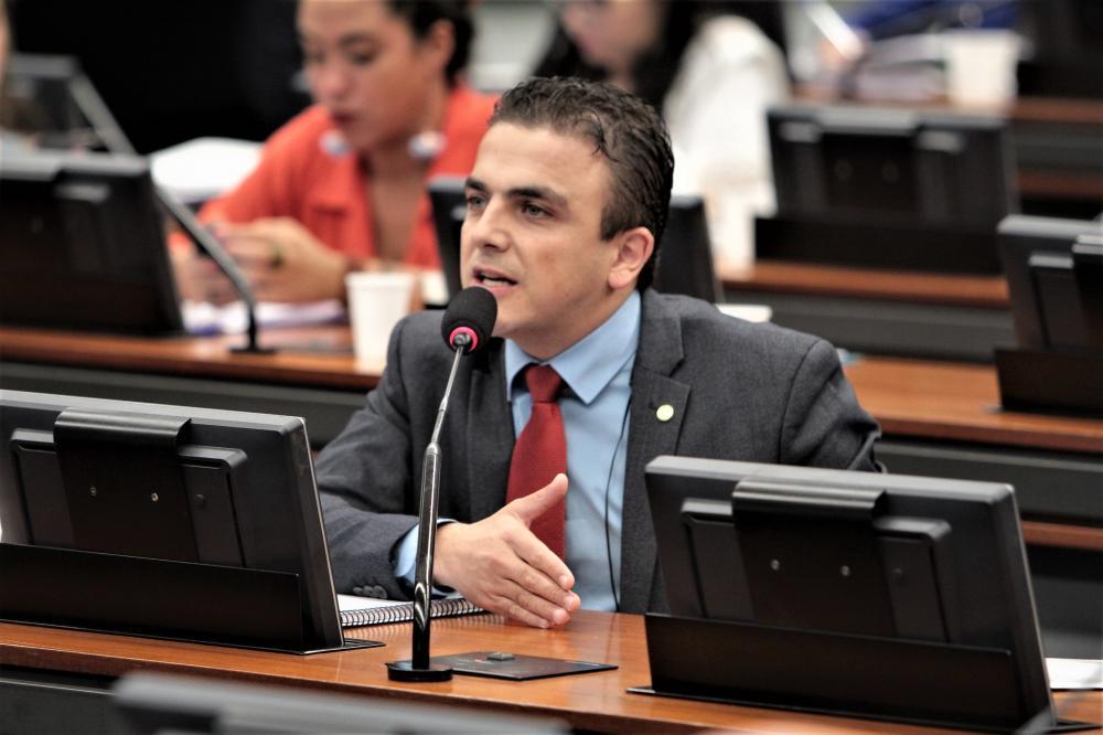 Deputado Federal Aliel Machado (PSB)/Foto:ASCOM