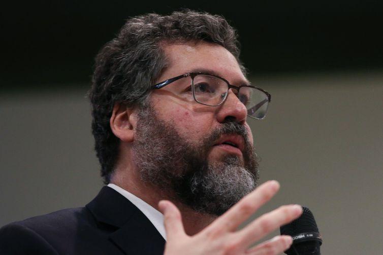 O ministro das Relações Exteriores, Ernesto Araújo - Fabio Rodrigues Pozzebom/Arquivo/Agência Brasil