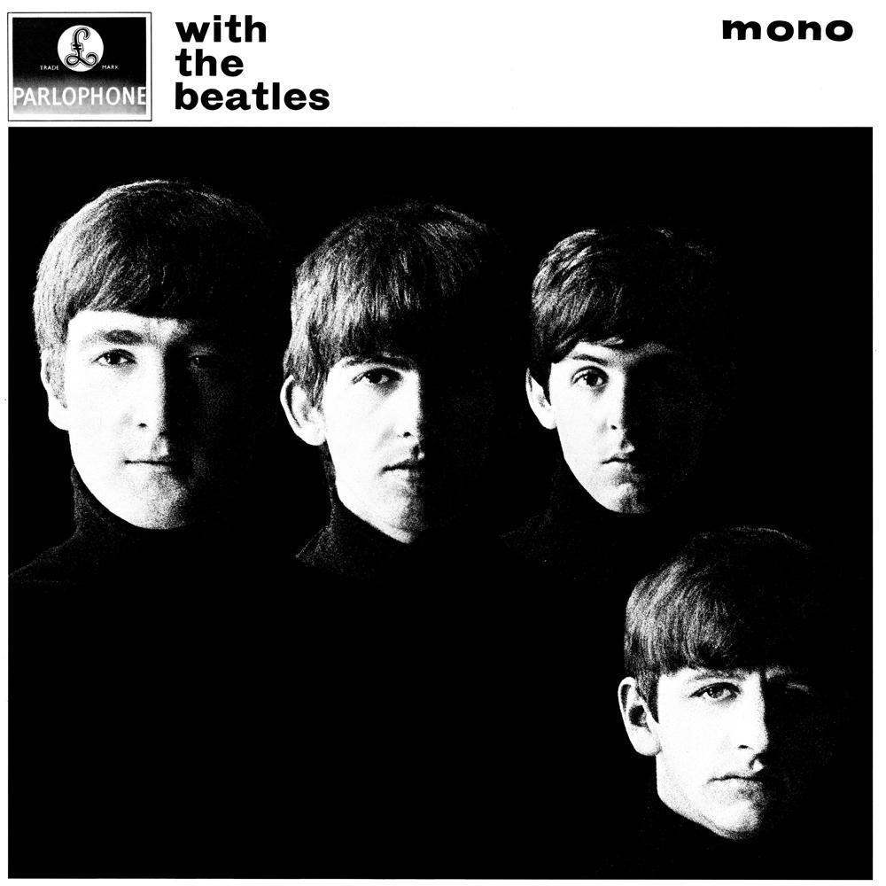 Capa de 'With The Beatles' com foto de Robert Freeman — Foto: Reprodução