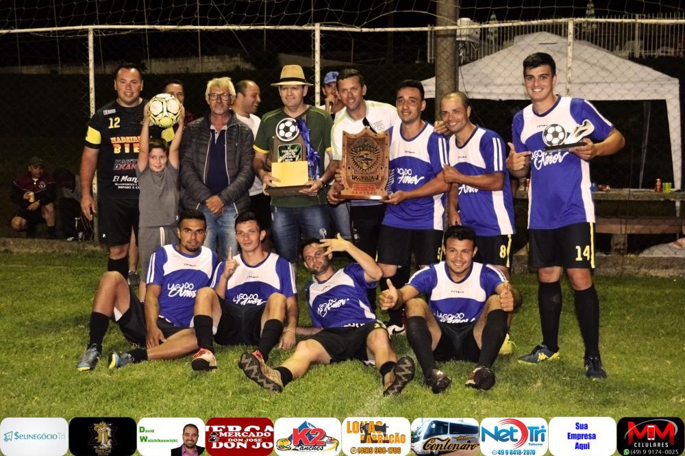 Lago do Amor, campeão do III Torneio da Polícia Militar/Foto:Marcos Prudente