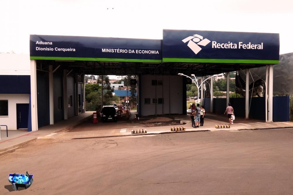 Aduana de passeio de acesso a Argentina/Foto:Marcos Prudente