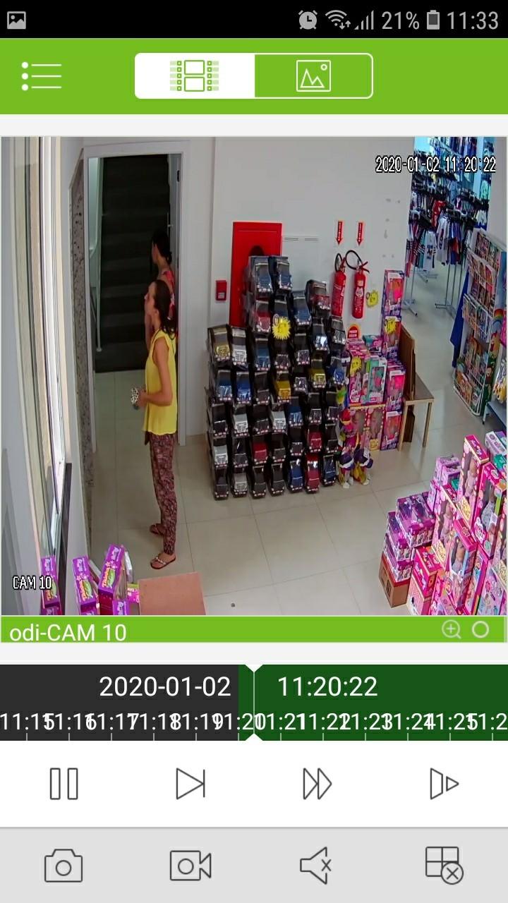 Cerqueirense tem celular furtado em loja na manhã de hoje (02)