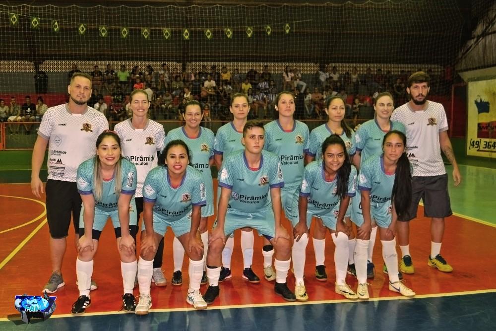 Barracão - Rainhas do Futsal Centro, estreiam com vitória no Interbairros de Futsal