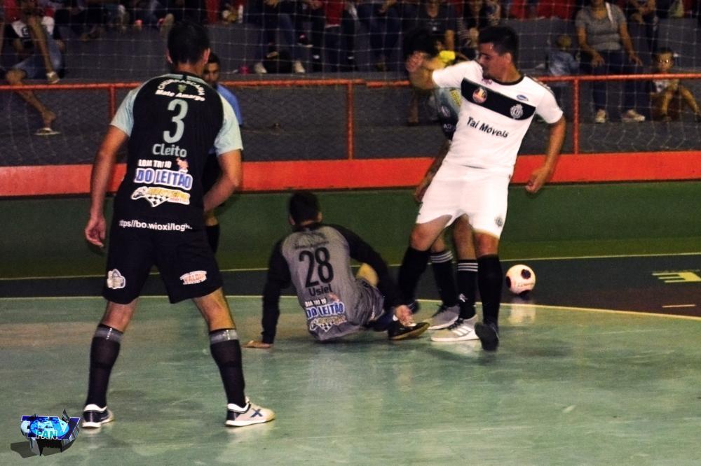 Barracão - São Roque e Os Galácticos ficam no empate, em jogo de estreia do Interiorano de Futsal