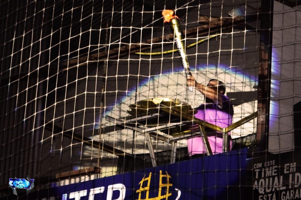 Barracão - Um dos ícone do futsal do município é homenageado durante abertura do Interbairros