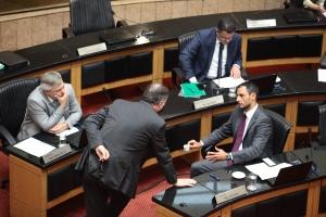 Membros da CCJ participam da reunião da manhã desta terça-feira (23) FOTO: Solon Soares/Agência AL