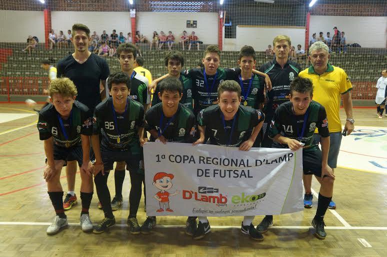 Dionísio Cerqueira - DME/ACEC é campeã da Copa D' Lamb