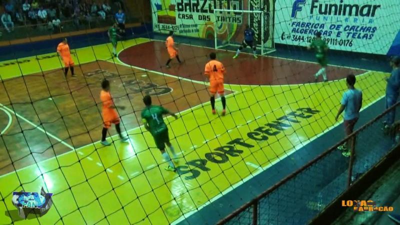 Gols Nacional Simoneto x Alvorada A Interbairros de Futsal
