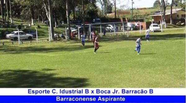 Melhores momentos Industrial x Boca Jr Barracão Barraconense Aspirante