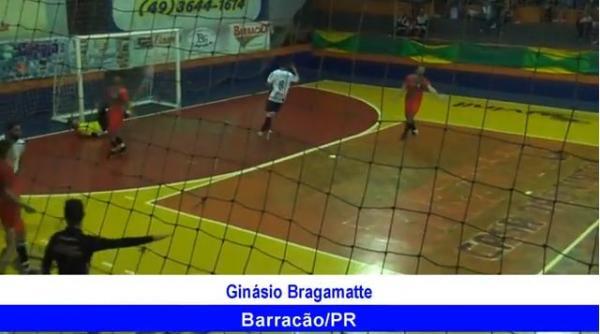 Gols de Nossa S de Fátima 3 x 0 E C Idustrial Interbairos de Futsal