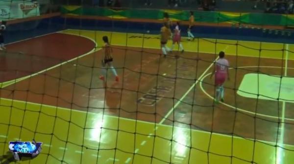 Gols de E C Industrial 4 x 9 Copasa Mecânica BR Interbairros de Futsal