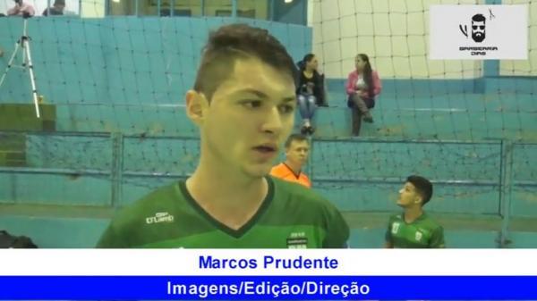 Rafa Hermes disse que Barracão foi bem na estreia