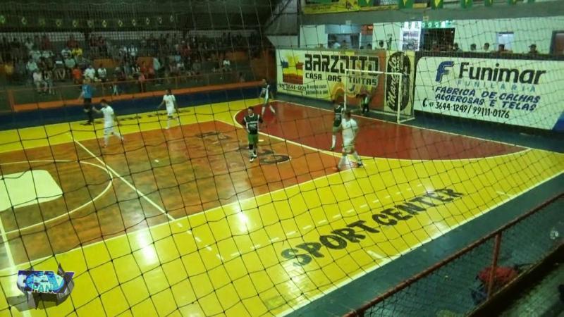 Gols de Pinheirinho 12 x 1 Alvorada B Interbairros de Futsal