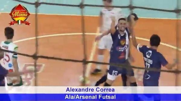 Gol Alexandre Correa contra ADAF