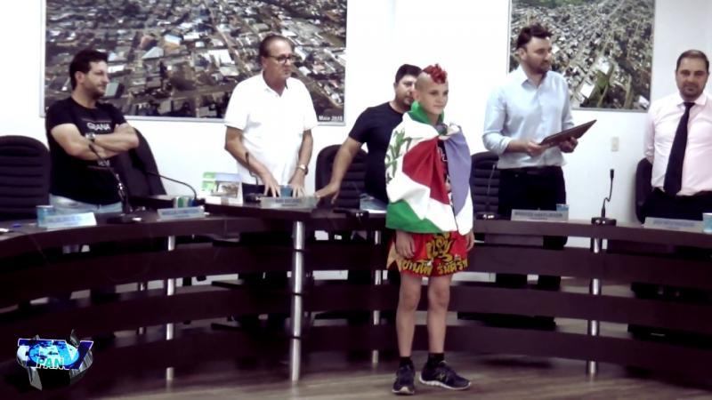 Barracão - Gil James recebe moção honrosa na Câmara de Vereadores