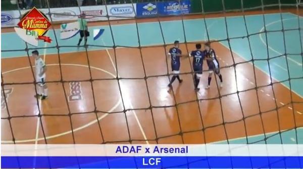 Pires marca contra ADAF Saudades