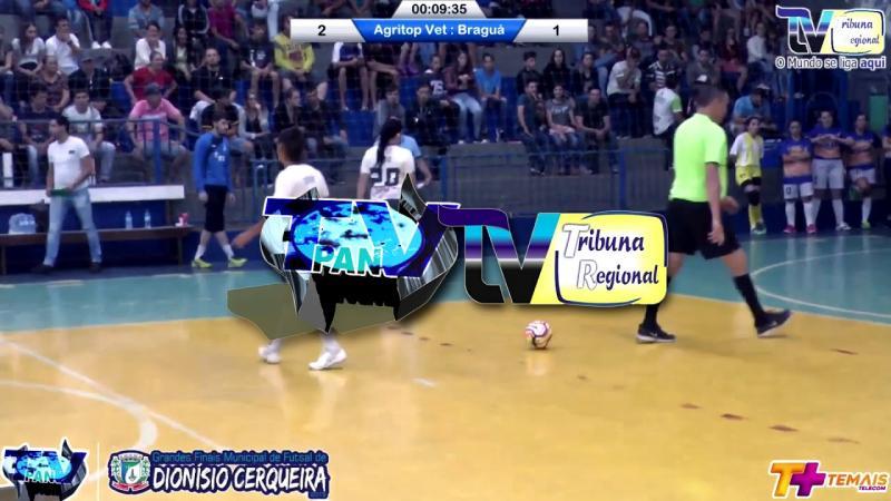 Gols Agritop Vet x Braguá Final Cerqueirense Feminino de Futsal