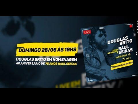 Douglas Brito convida para live de comemoração do aniversário de Raul Seixas