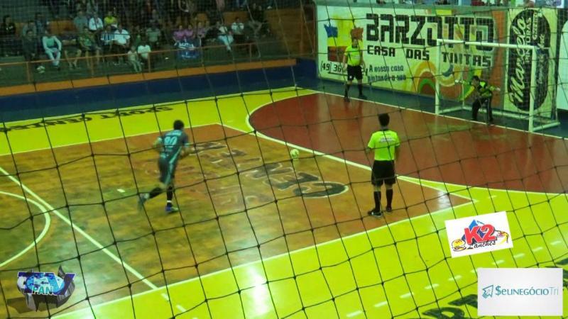 Gols de Os Bartiras 3 x 3 Os Galácticos Interiorano de Futsal