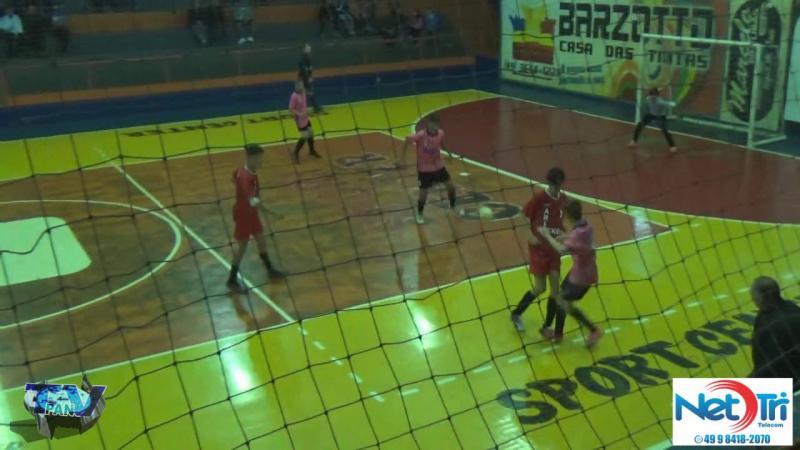 Gols de S J C Poncio 4 x 0 S Os Feras Interbairros Sub15 de Futsal