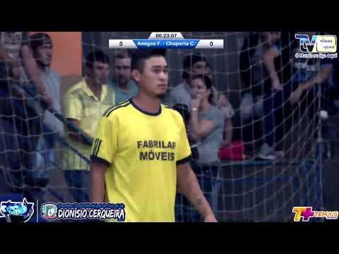 Gols Chaplin x Amigos do Futsal Final Cerqueirense Citadino