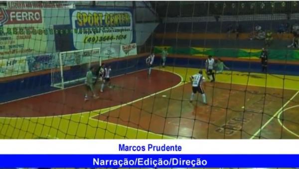Gols E C Capanema 3 x 5 Alvorada Interbairros de Futsal