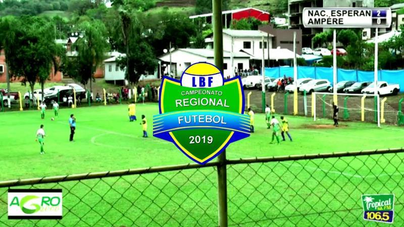 Lances e gols de Nacional 3 x 1 Ampére LBF