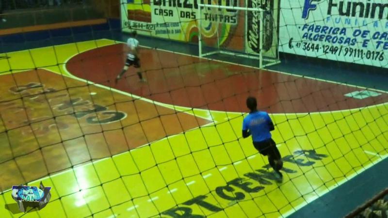 Gols de N Simoneto 6 x 2 E C Industrial Interbairros de Futsal Principal
