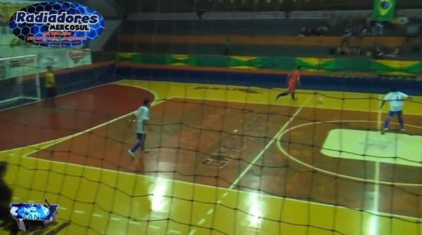 Gols de E C Industrial 6 x 3 Nova Esperança Interbairros de Futsal