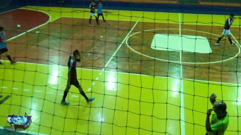 Gols de Siqueira Belo 5 x 2 Athético Interbairros Sub15