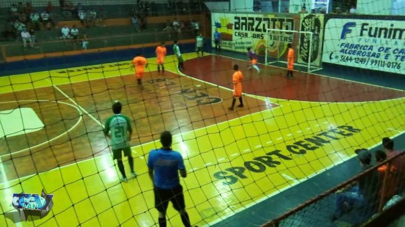 Gols de Copsa F 5 x 4 Alvorada A pelo Interbairros de Futsal