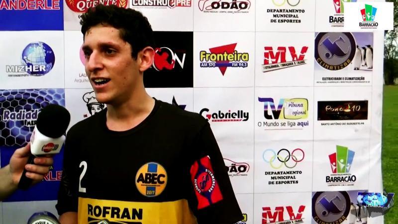 Pedro foi eleito o caro jogo entre ABEC Indu e Alvorada na estreia do Barraconense