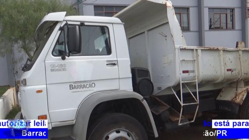 Marcos Haeflieger diz ser favorável a leilões de veículos e máquinas inservíveis em Barracão